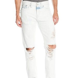 True Religion Geno Flap Relaxed Slim Worn Jeans